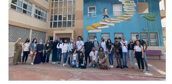 """מעבדה עם הפנים לקהילה: סטודנטים להנדסה ביו רפואית מלמדים את תלמידי """"אל-עומריה"""" בכפר קאסם את סודות המדע"""
